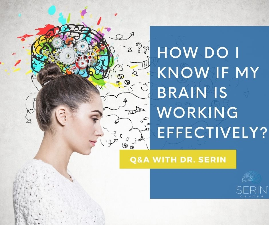 Brain working effectively